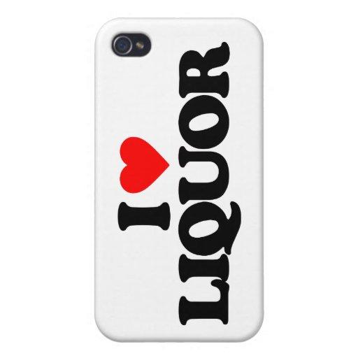 I LOVE LIQUOR iPhone 4 COVERS