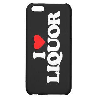 I LOVE LIQUOR CASE FOR iPhone 5C