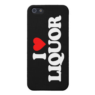 I LOVE LIQUOR COVER FOR iPhone 5