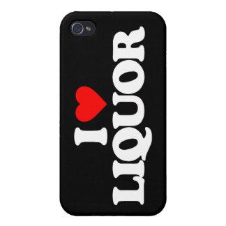 I LOVE LIQUOR iPhone 4 CASES