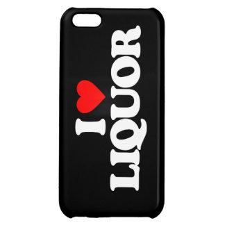 I LOVE LIQUOR iPhone 5C CASES