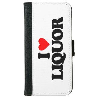 I LOVE LIQUOR iPhone 6 WALLET CASE