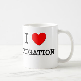 I Love Litigation Basic White Mug