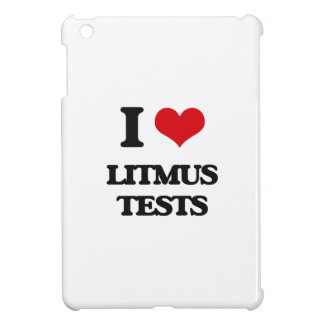 I Love Litmus Tests iPad Mini Cases