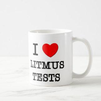 I Love Litmus Tests Coffee Mug