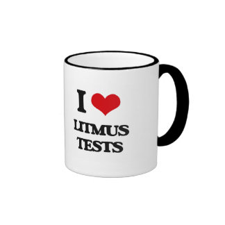 I Love Litmus Tests Mugs