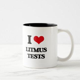 I Love Litmus Tests Coffee Mugs