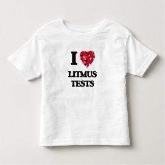 I Love Litmus Tests T Shirt