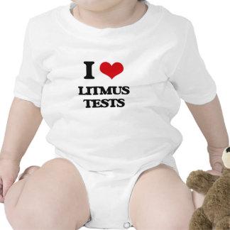 I Love Litmus Tests Baby Bodysuits