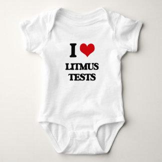 I Love Litmus Tests Tees