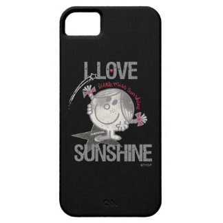 I Love Little Miss Sunshine Barely There iPhone 5 Case