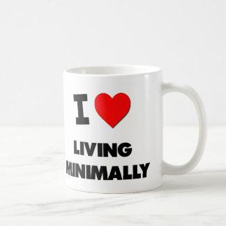 I Love Living Minimally Coffee Mugs
