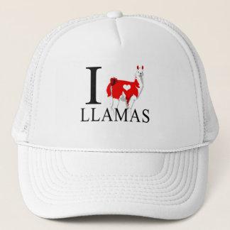 I Love Llamas Caps