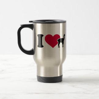 I love llamas coffee mugs