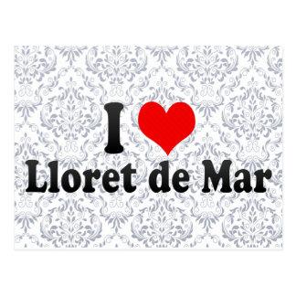 I Love Lloret de Mar, Spain Postcard