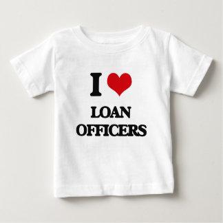 I Love Loan Officers Shirts
