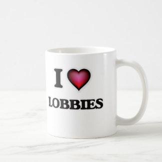 I Love Lobbies Coffee Mug