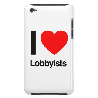 i love lobbyists barely there iPod covers