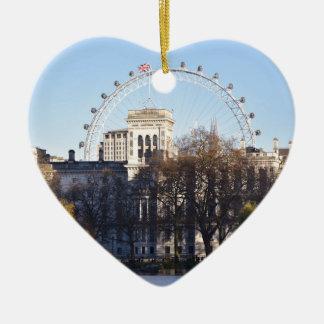 I Love London! Ceramic Ornament