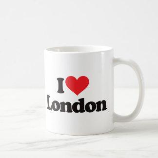 I Love London Coffee Mugs