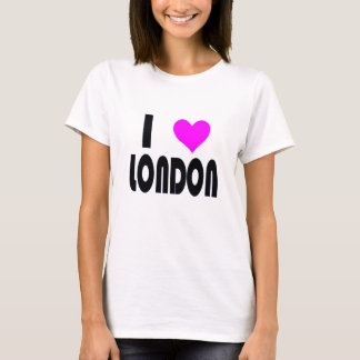 I Love London UK  t-shirt