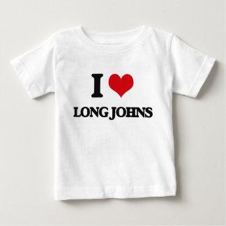 I Love Long Johns Infant T-Shirt