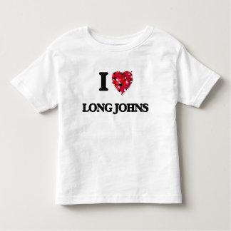 I Love Long Johns Tees