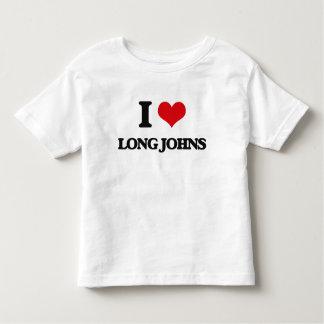 I Love Long Johns Tee Shirt