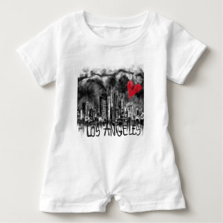 I love Los Angeles Baby Bodysuit