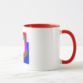 """""""I LOVE Los Angeles Coloring 1"""" Cup"""