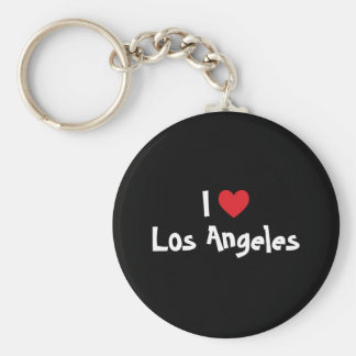 I Love Los Angeles Key Ring
