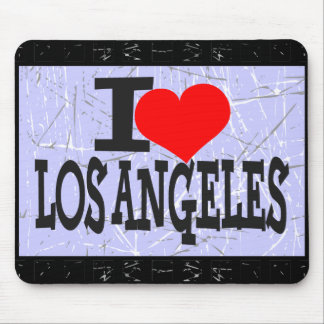 I love Los Angeles  - Mouse pad