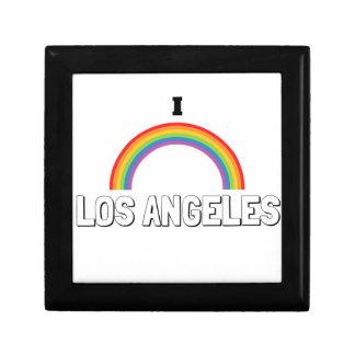 I Love Los Angeles Small Square Gift Box