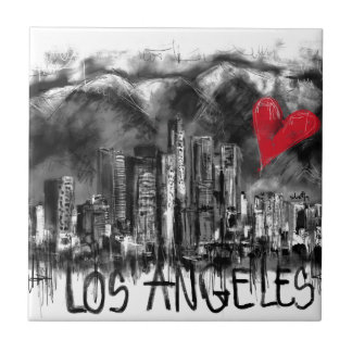 I love Los Angeles Tile