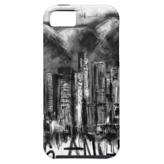 I love Los Angeles Tough iPhone 5 Case