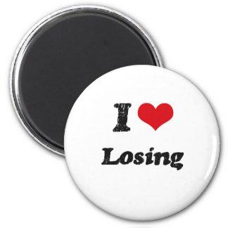 I Love LOSING Magnet