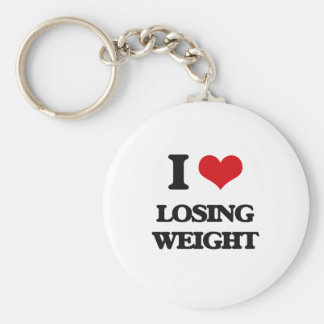 I Love Losing Weight Keychain
