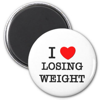 I Love Losing Weight Magnet