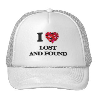 I Love Lost And Found Cap
