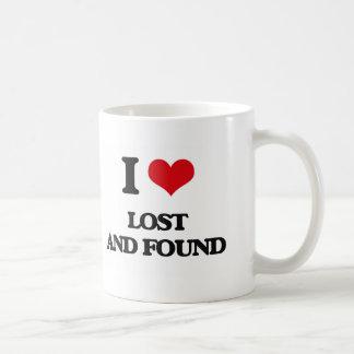 I Love Lost And Found Coffee Mug
