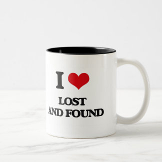 I Love Lost And Found Coffee Mugs