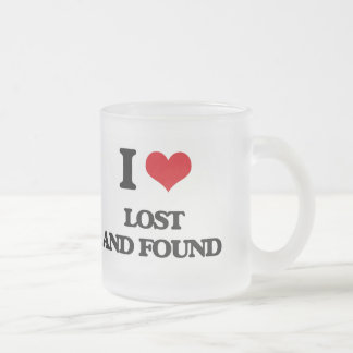 I Love Lost And Found Mugs