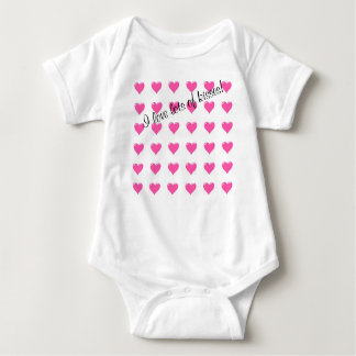 I Love Lots of Kisses Baby T-shirt