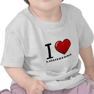 I LOVE LOUISIANA SHIRT