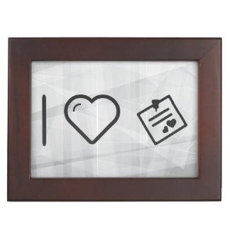 I Love Love Letters Keepsake Box