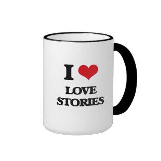 I Love Love Stories Mug