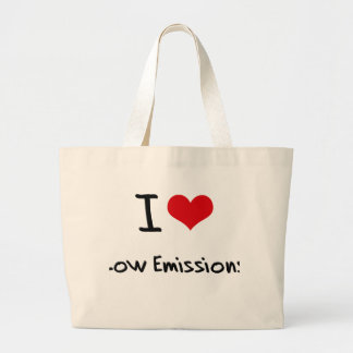 I love Low Emissions Tote Bags