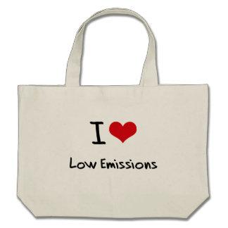 I love Low Emissions Tote Bag