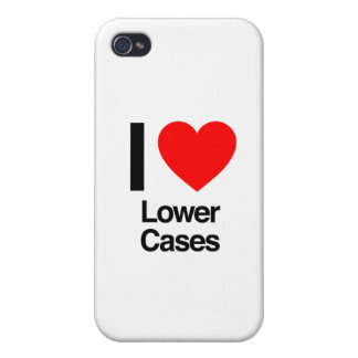 i love lower cases case for iPhone 4