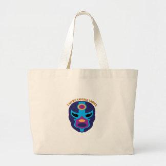 I Love Lucha Libre Canvas Bag